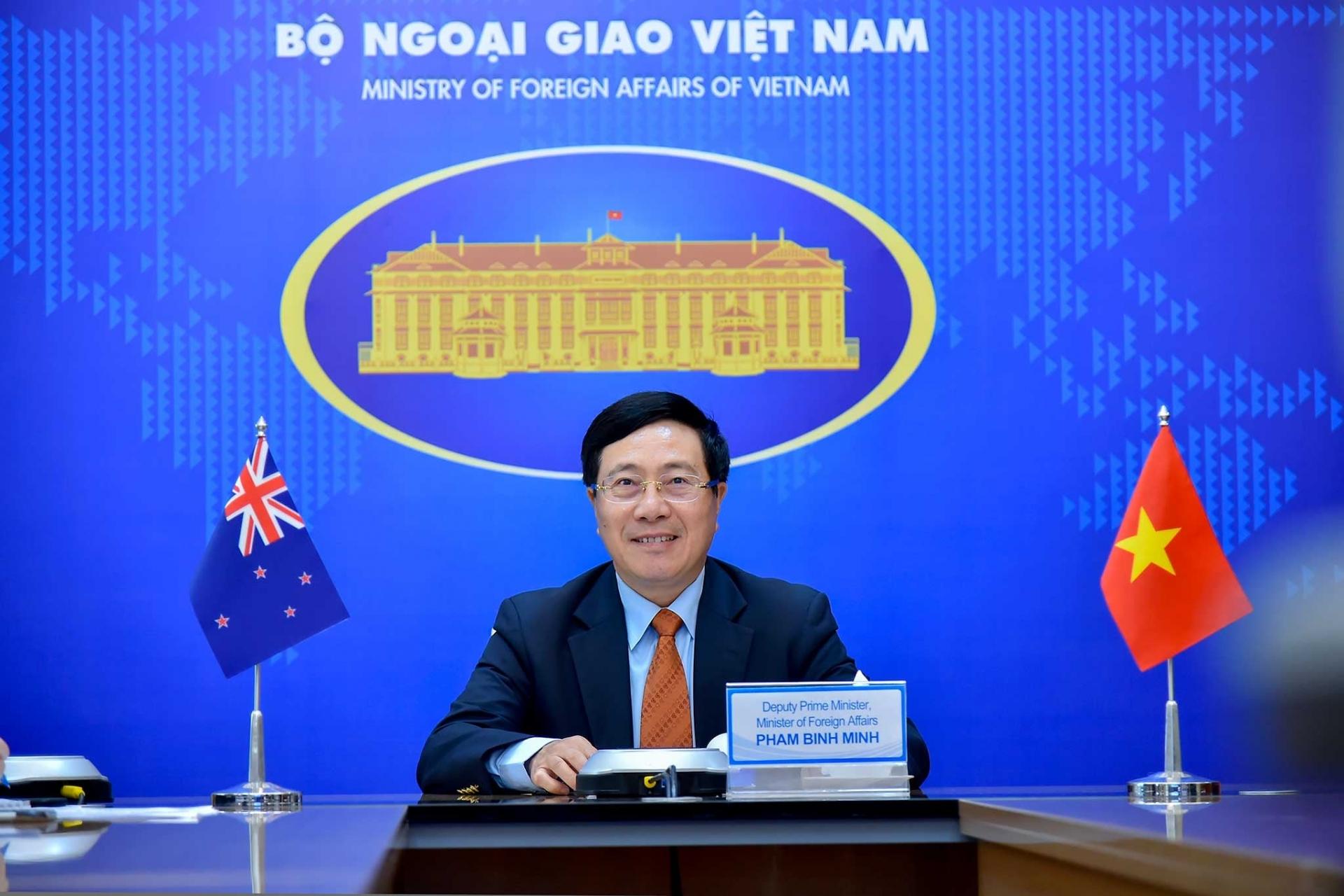 Foreign ministries seek ways to bolster cooperation between Vietnam, NZ