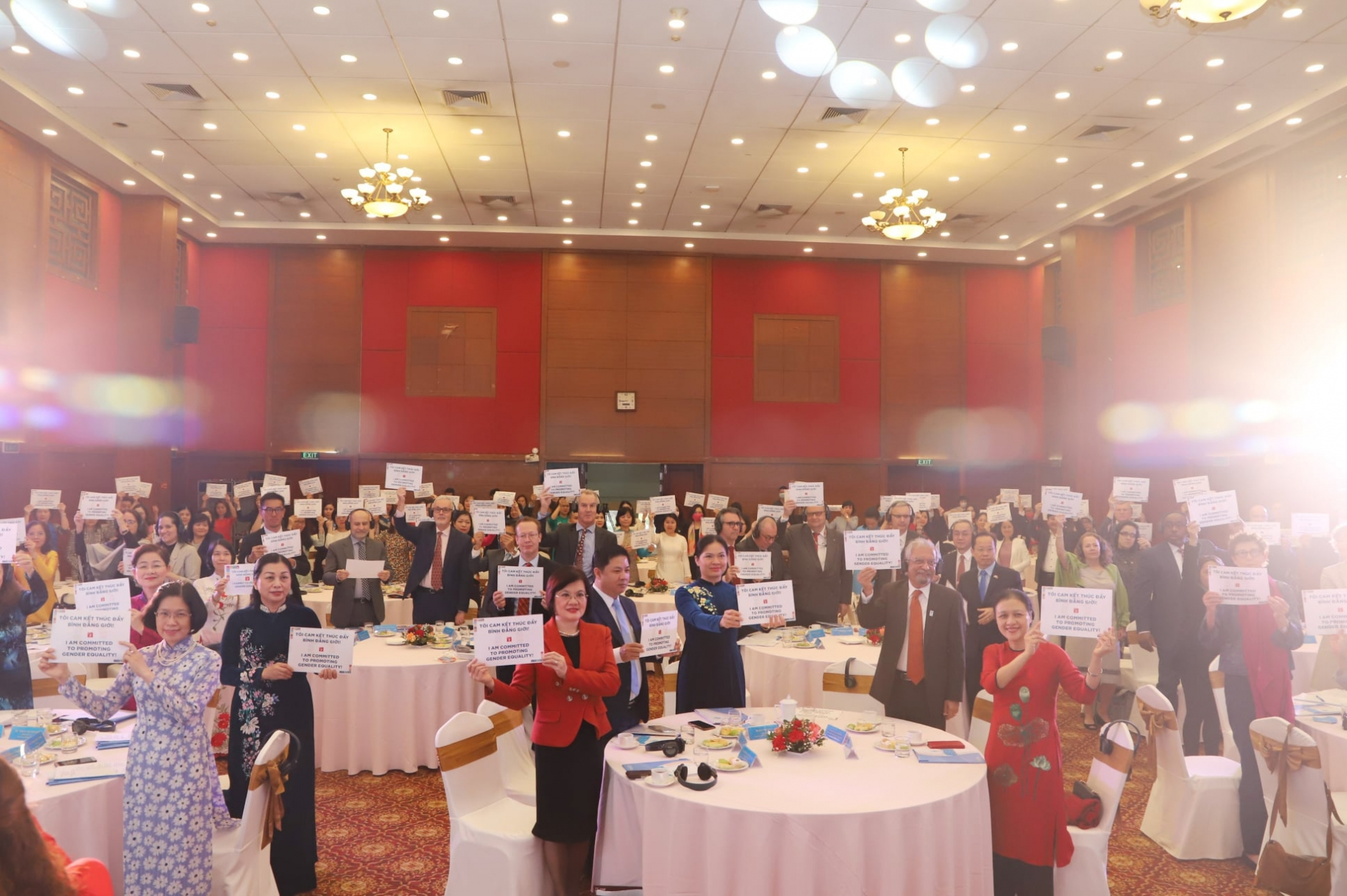 Promoting implementation of sdgs from a gender perspective