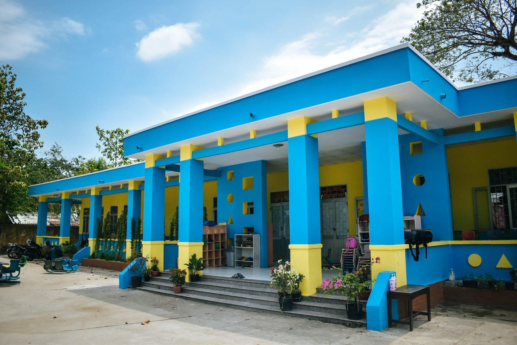 Another kindergarten built by Saigonchildren in Hau Giang