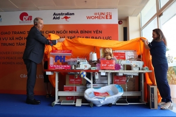 essential equipment and facilities handed over to womens shelters in vietnam