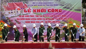 revolutionary historical relic site associated with lao party in hoa binh to be upgraded