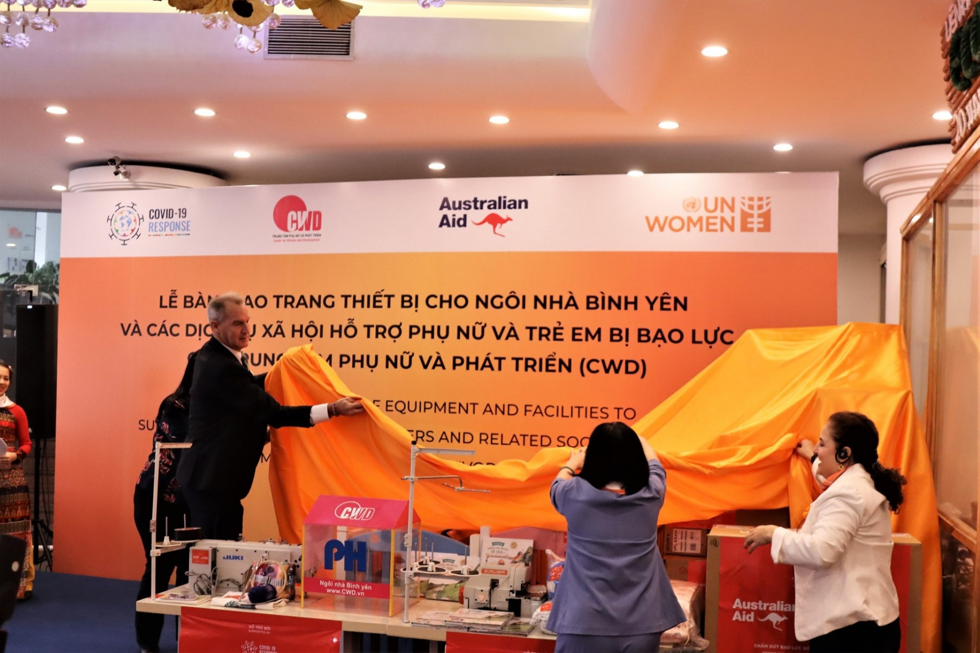 Australia, UN Women help upgrade services assisting violence victims in Vietnam