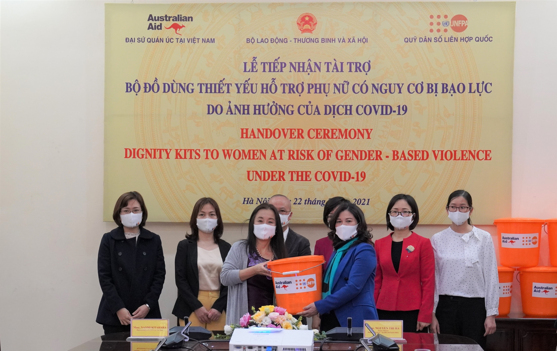 2,750 Dignity Kits support women and girls at risk of violence amidst COVID 19