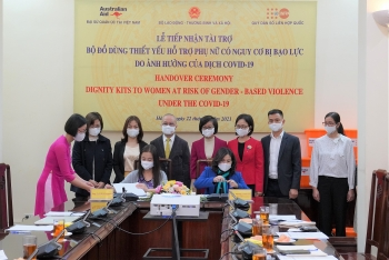 2750 dignity kits support women and girls at risk of violence amidst covid 19