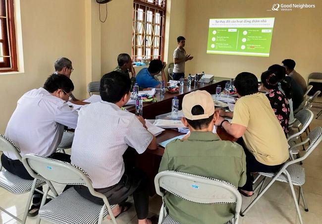 GNI improves quality of managing child sponsor volunteer network