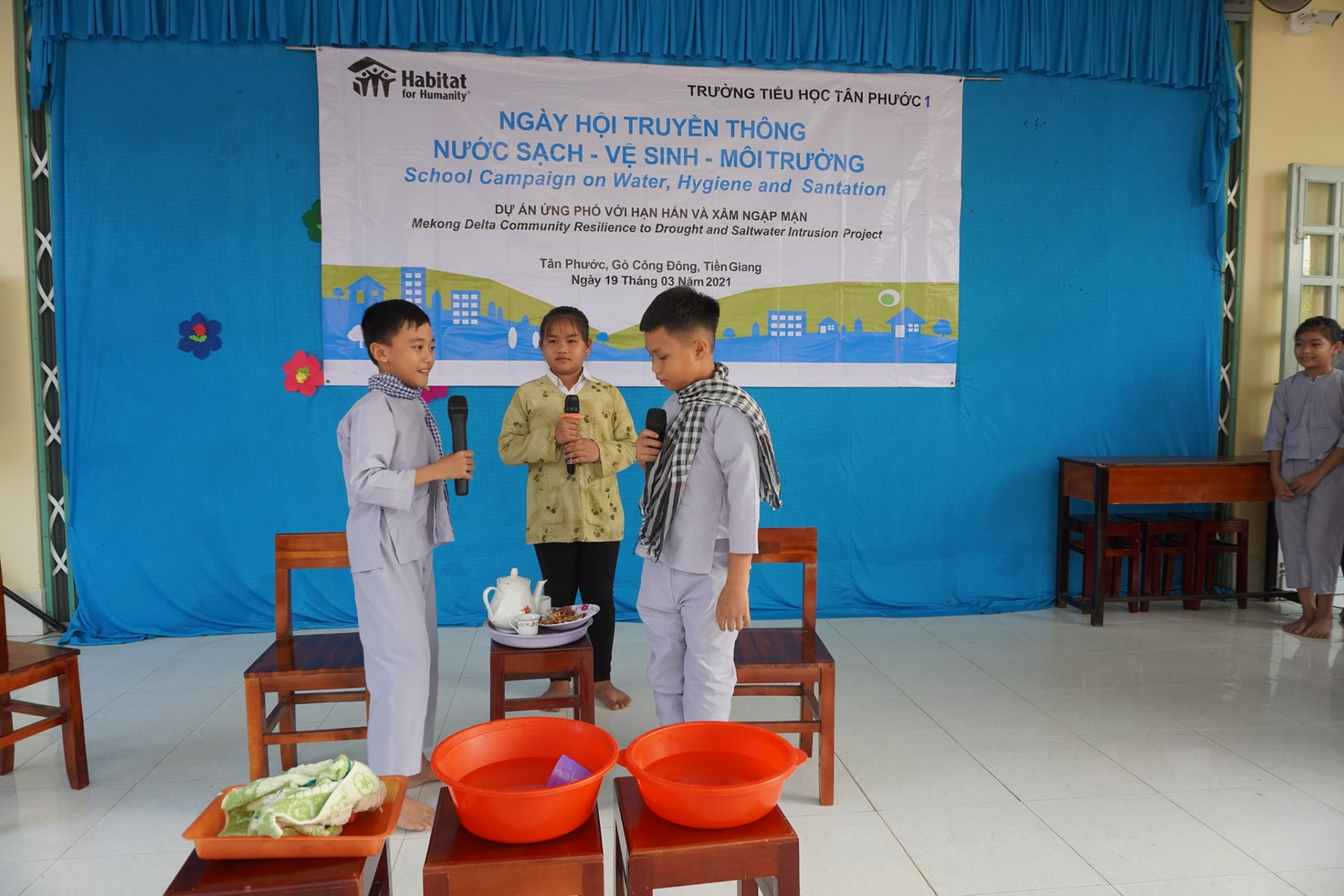 Habitat Vietnam assists Mekong Delta in building resilience to drought and saltwater intrusion