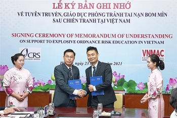 catholic relief services helps vietnam enhancing uxo risk education