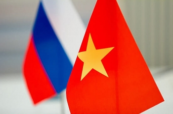 order of friendship of russia bestowed upon vietnamese diplomat military officials