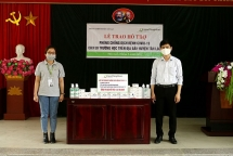 korean ngo supports over 5925 usd to hoa binhs covid 19 fight
