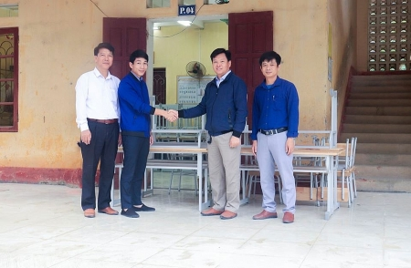 NGO upgrades education facility in Thanh Hoa