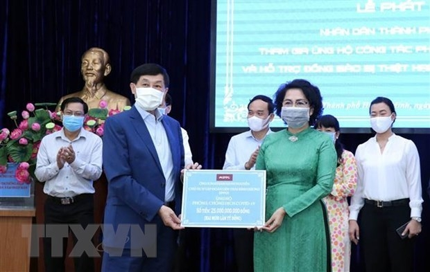vietnamese communities abroad join hands to fight covid 19 in vietnam