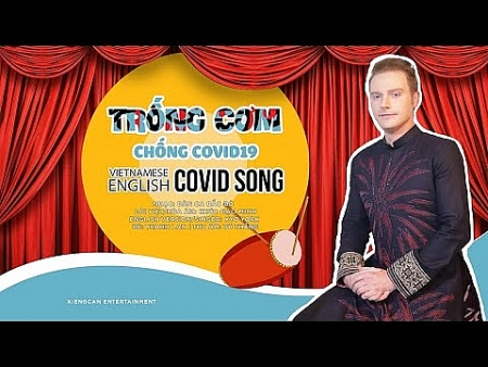 American singer covers Vietnamese folk song to raise awareness about COVID-19