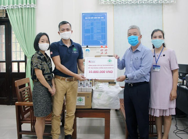 nparenew assist quang tri efforts in covid 19 fight