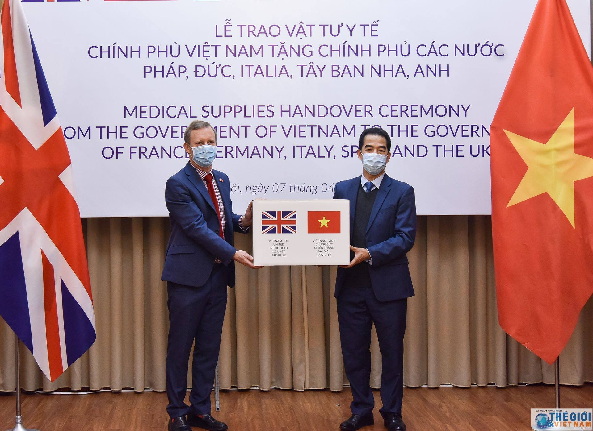 vietnam gifts 550000 face masks to eu countries in coronavirus fight