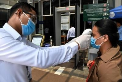 one of latest covid 19 patients in cambodia found a vietnamese woman