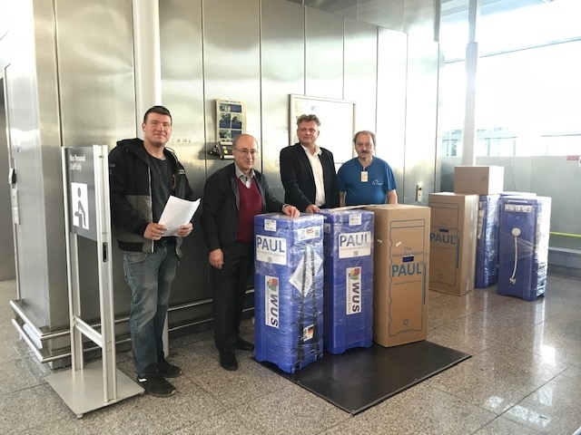 germnan university donates 20 water filters to vietnam in gratitude of its support in covid 19