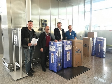 Germnan university donates 20 water filters to Vietnam in gratitude of its support in COVID-19