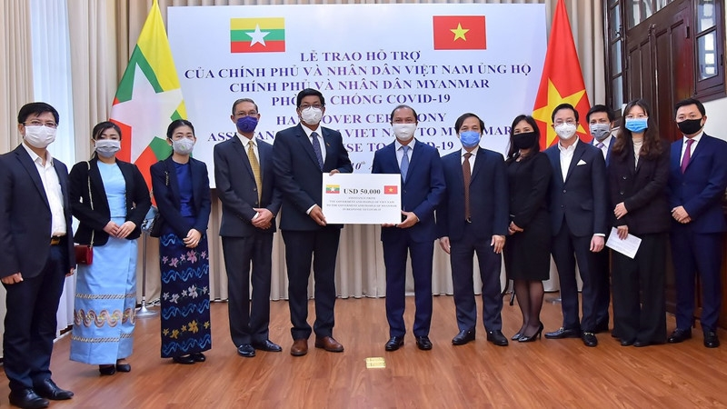 vietnam financially aids myanmar amid spreading coronavirus