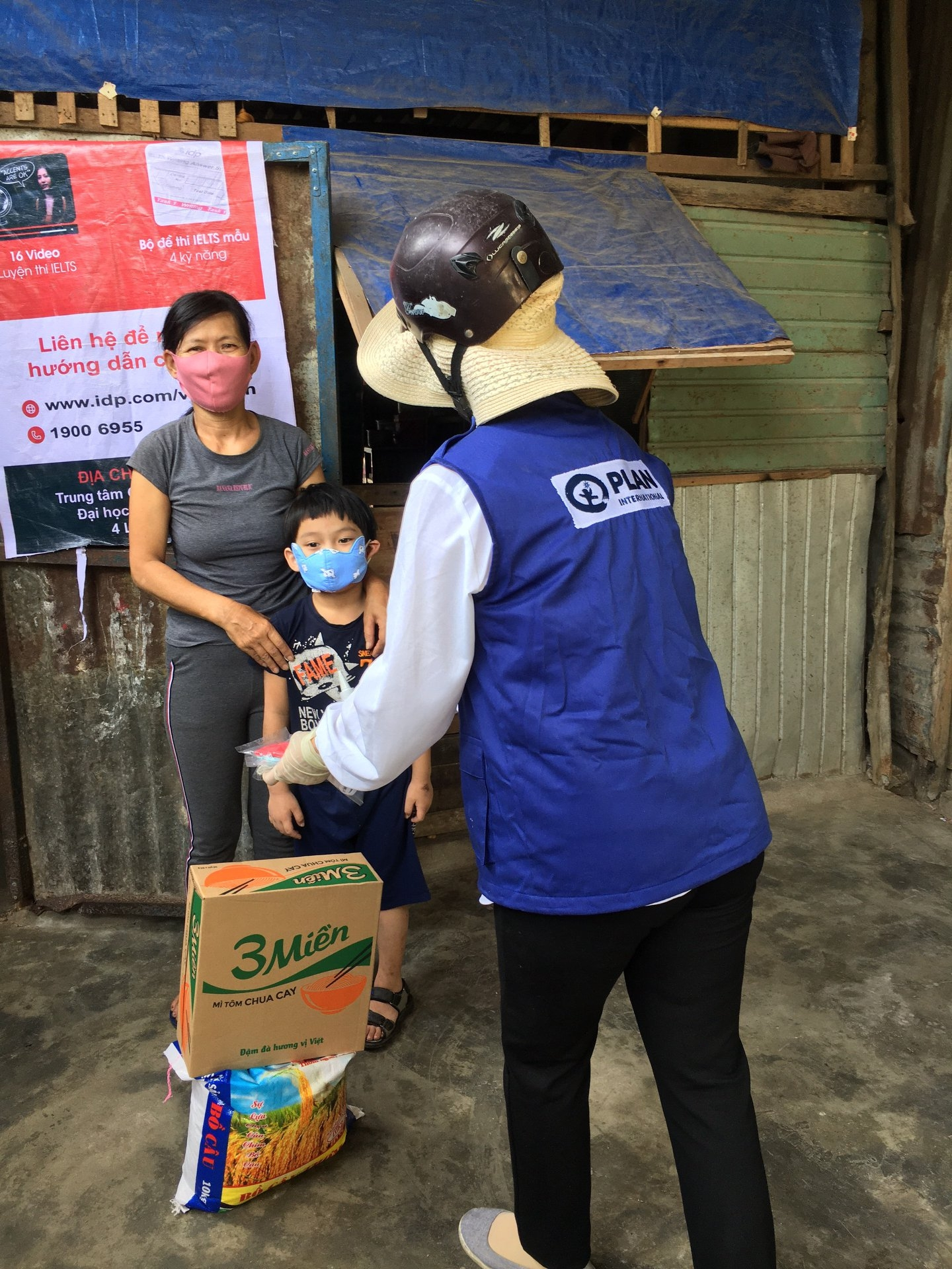 plan international vietnams support package to over 400 families in thua thien hue