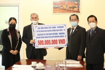 friendship association raises usd 21400 to help romanias covid 19 fight