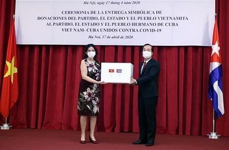 Vietnam sends 5,000 tonnes of rice, helping Cuba's COVID-19 fight