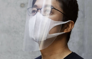 japanese designer shares diy face shield for covid 19