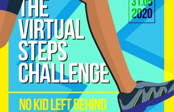 help vulnerable children get back to school after covid 19 with the virtual steps challenge