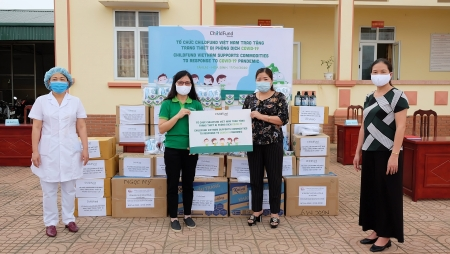 ChildFund Vietnam supports over 27,000 children and families in response to COVID-19 pandemic