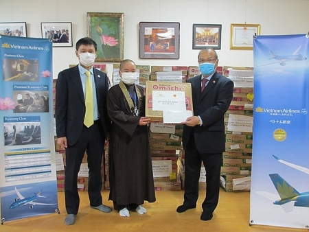 Foreign representative agencies support COVID-19 fight in Japan, Laos