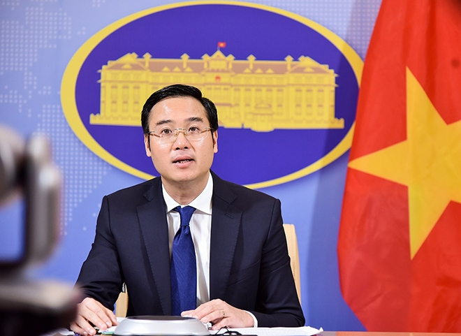 vietnam protests against chinas sovereign claims over paracel and spratly islands