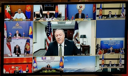 US Secretary of State accuses China of pushing territorial ambitions during pandemic