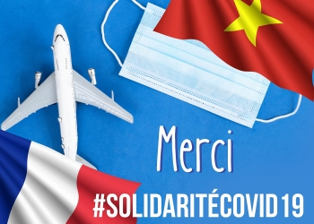 vietnam france traditional friendship in covid 19 fight