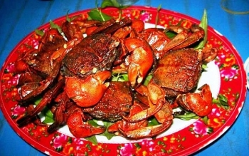 ba khia freshwater crabs in southern coastal provinces