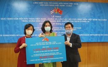 covid 19 friendship association donates over usd 66000 to cuba