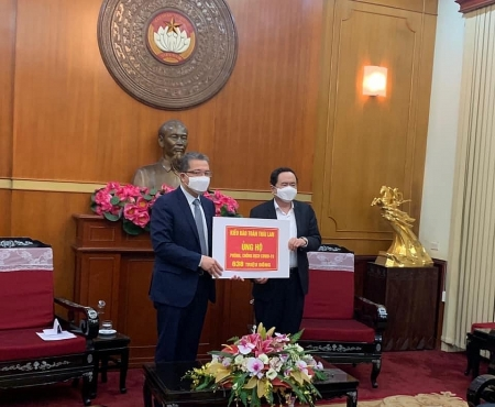 Vietnamese in Thailand, RoK donate USD 30,000 to homeland