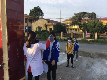 habitat vietnam provides covid 19 hygiene kits to thai nguyens communes
