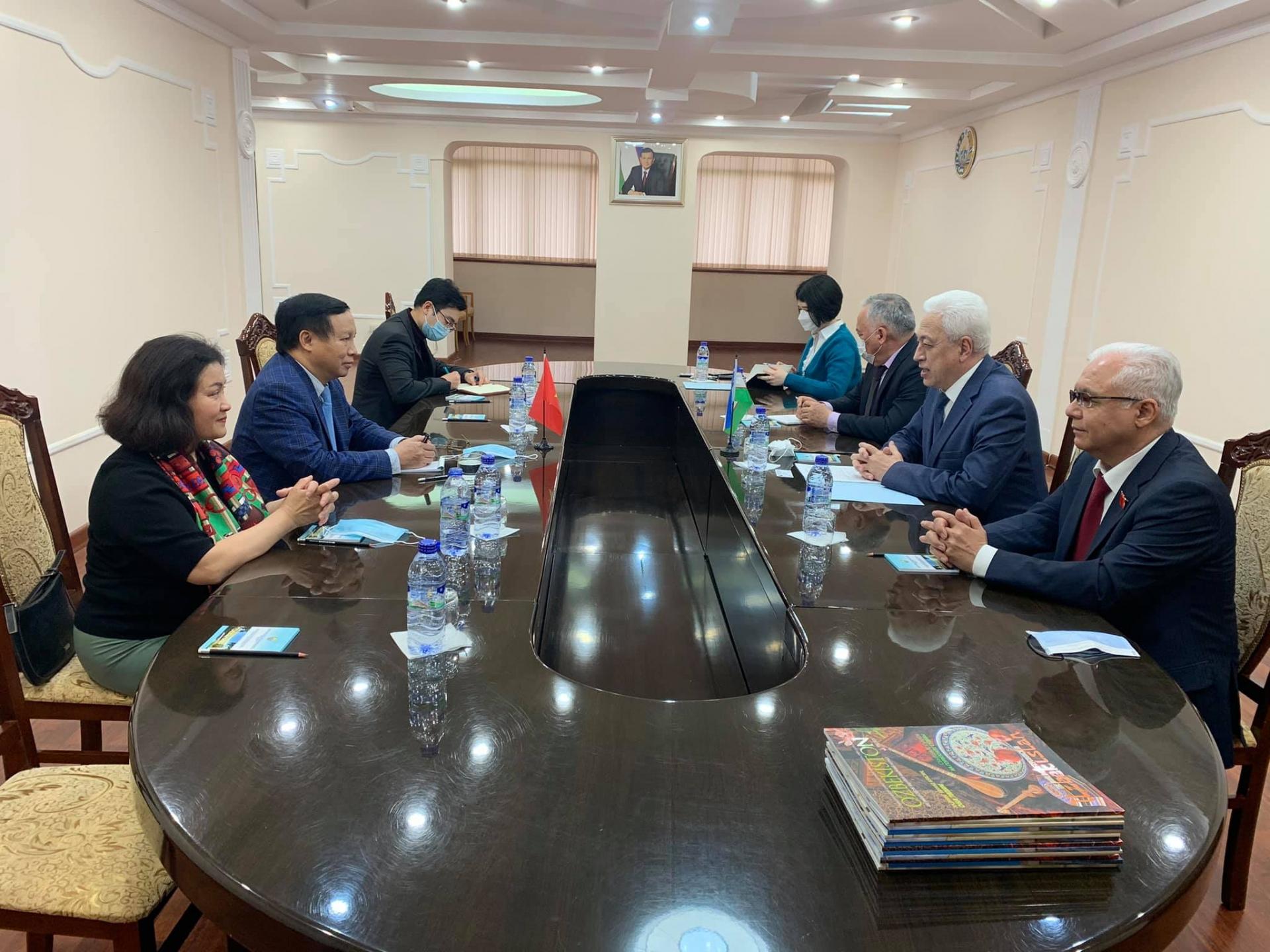 Bolstering traditional friendship between Vietnam and Uzbekistan