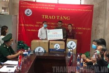 HCM City gifts USD 25,653 to Champasak Friendship Primary School