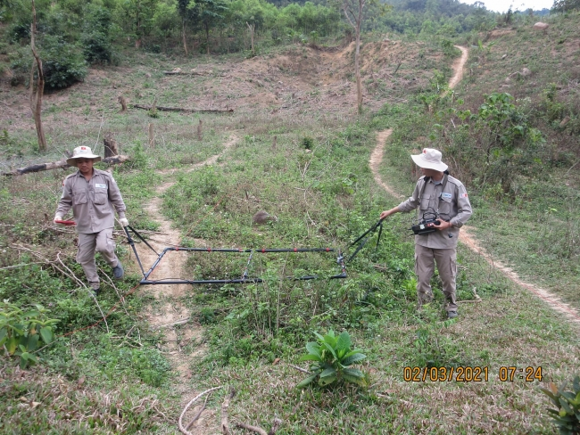 Quang Tri determined to be the first province to be mine safe by 2025