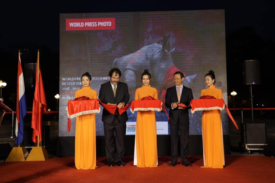 The very first World Press Photo Exhibition opened in Ho Chi Minh City