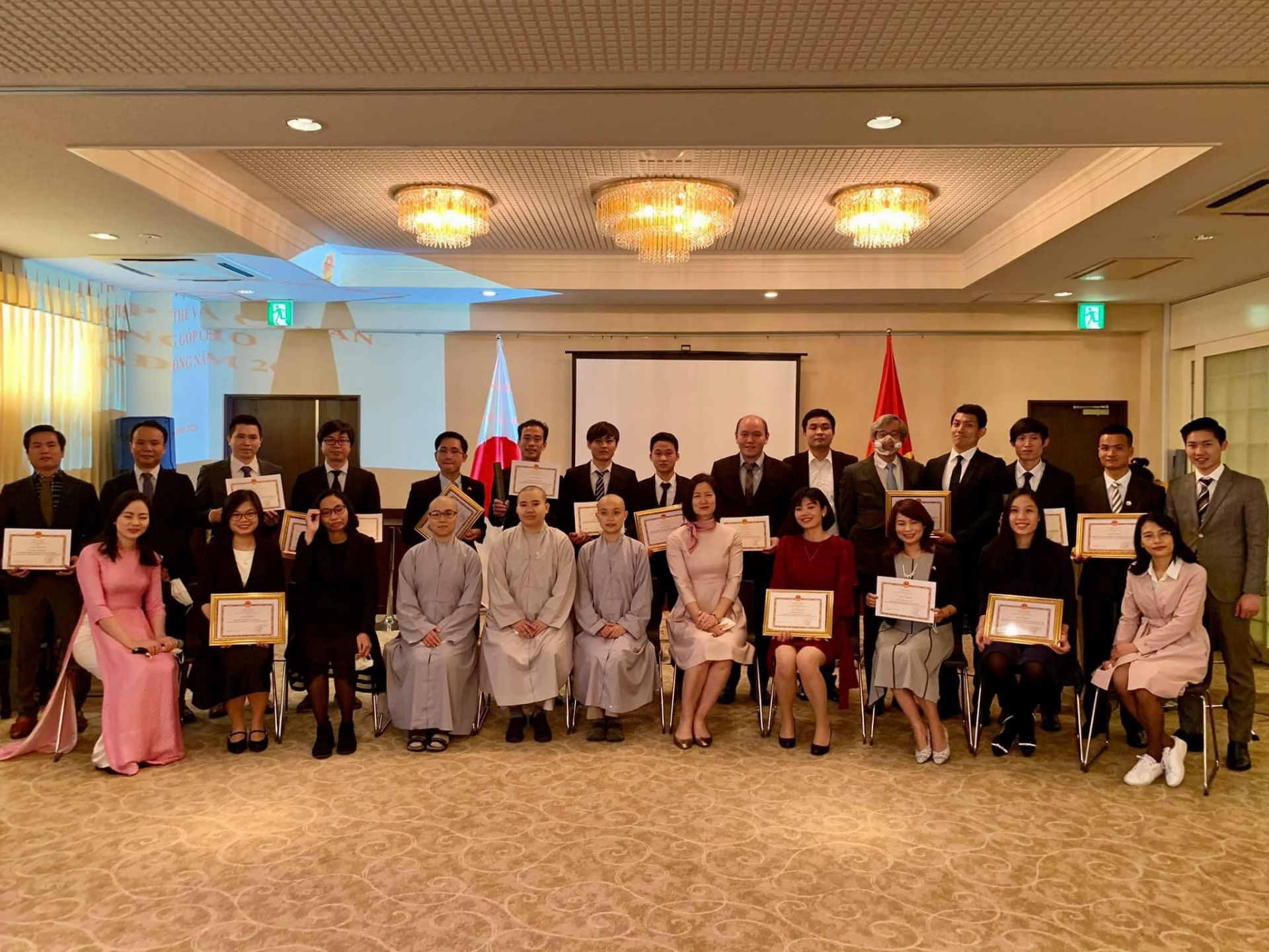 Embassy in Japan honours collectives and individuals for contributions to community