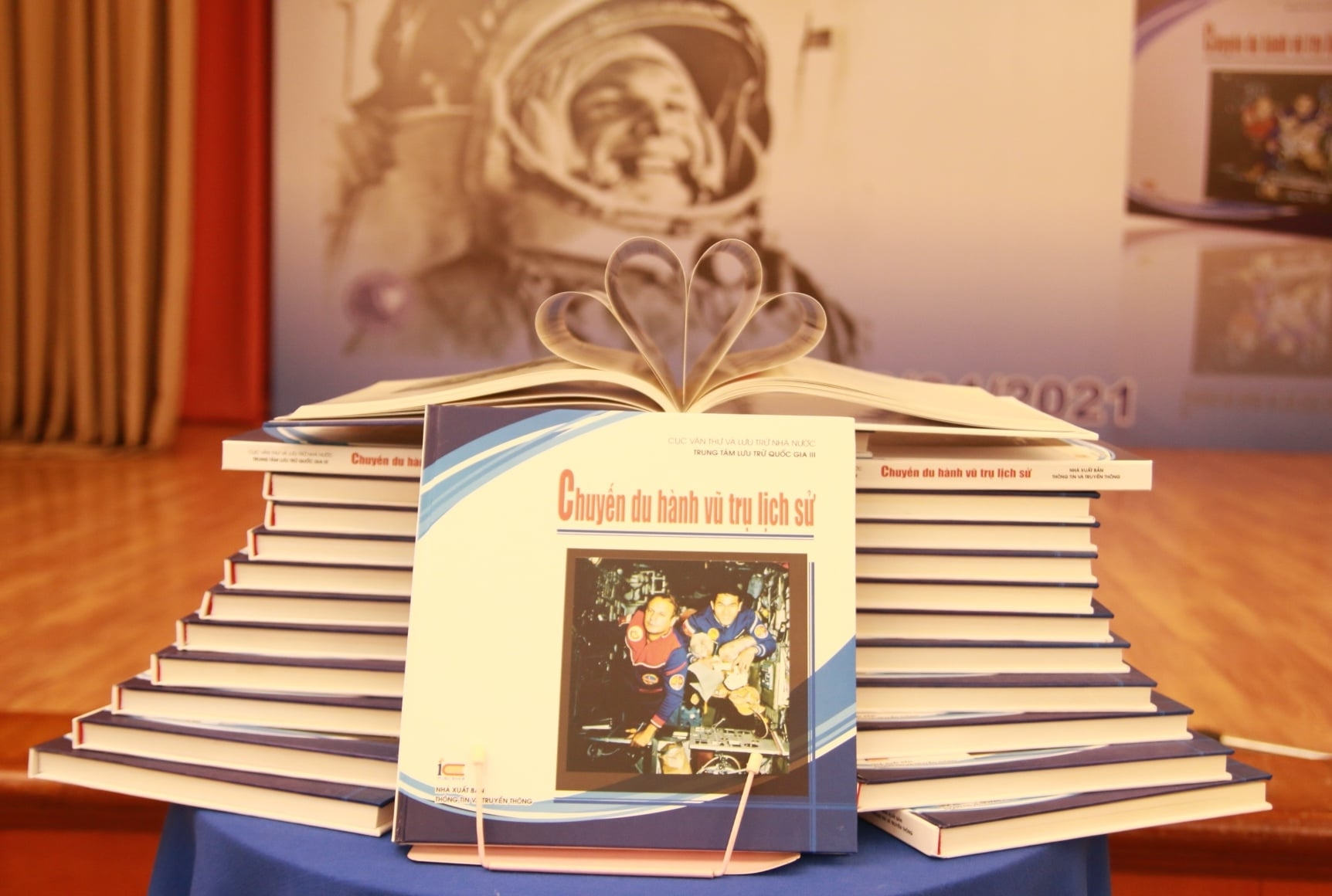 Debuts publication marking 40 year of first Vietnames austronaut's flight to space