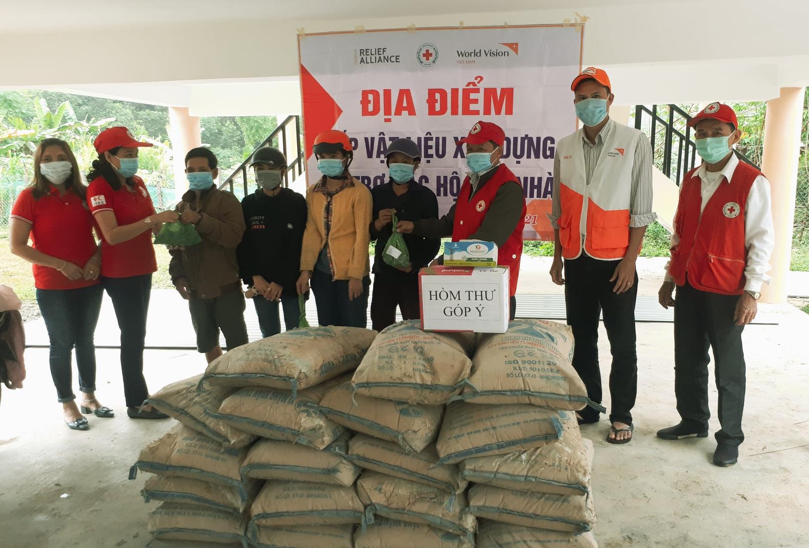 Quang Nam village gets support to build back flood damaged houses