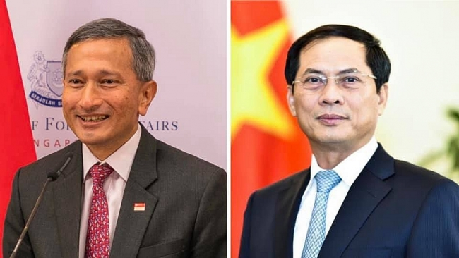 Singaporean Foreign Minister invited to Vietnam at convenient time