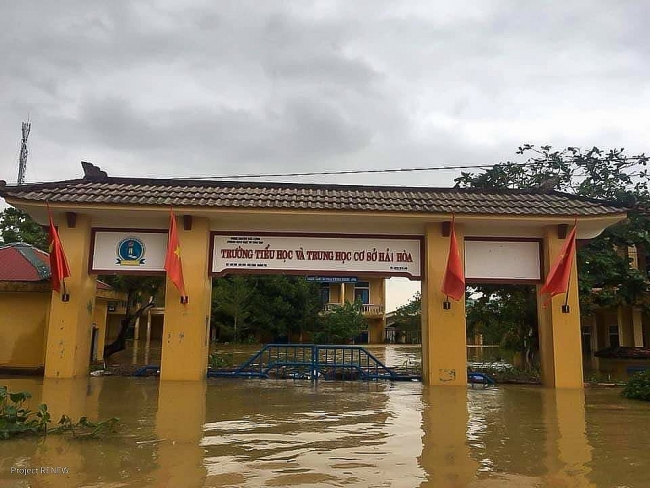 Natural disaster recovery assistance for Quang Tri