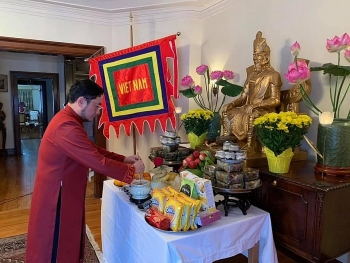 Online worship ceremony held in Canada to commemorate legendary ancestors of Vietnam