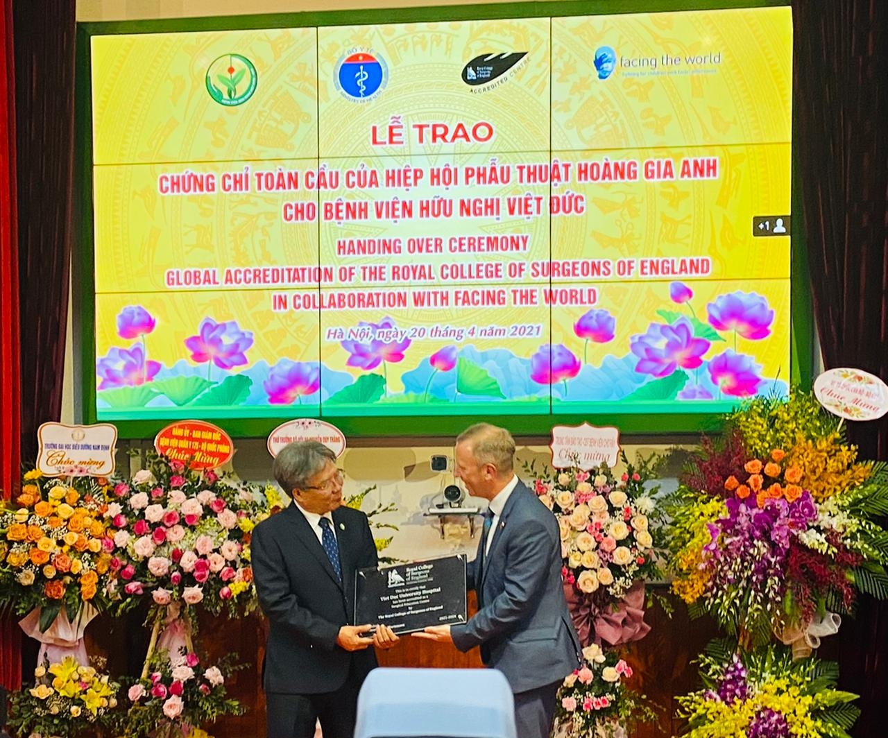 Vietnam's hospital awarded Royal College of Surgeons' global accreditation