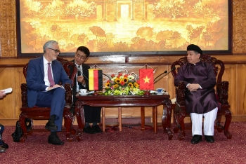 Elevate cooperation between Thua Thien Hue and German partners to a new level