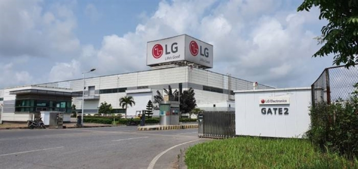 LG Electronics mobile phone plant in Vietnam turned into home appliance plant