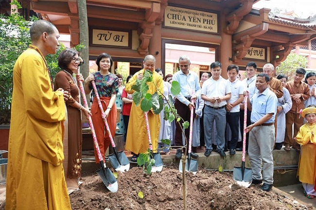 75 Vietnam-India friendship Bodhi trees to be planted in Hanoi